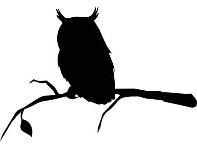 Owl Tree Silhouette | www.pixshark.com - Images Galleries ...