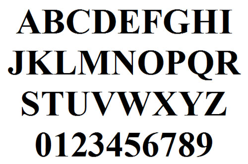 times new roman font ref times new roman ordering instructions after ...