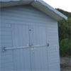 Shed Security Bars