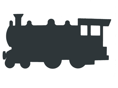 f j brindley and sons  sheffield  ltd train silhouette steam train clipart steam train clipart black and white